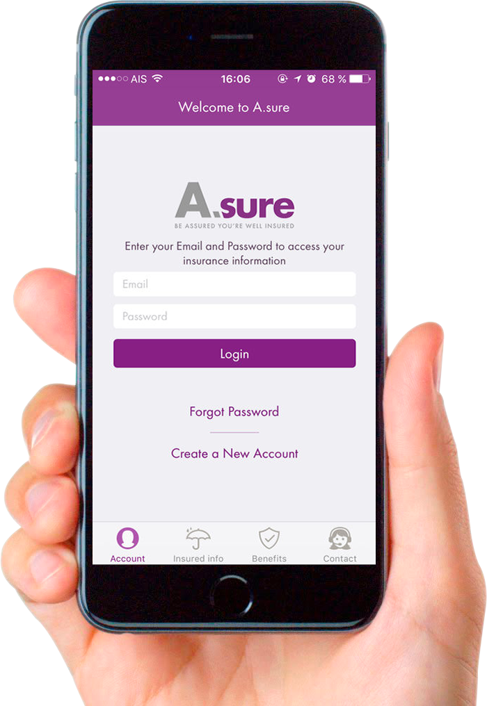 Asure Expatriate Insurance App